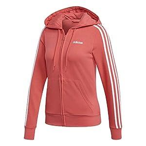 adidas Damen Essentials 3stripes Full Zip Hoodie