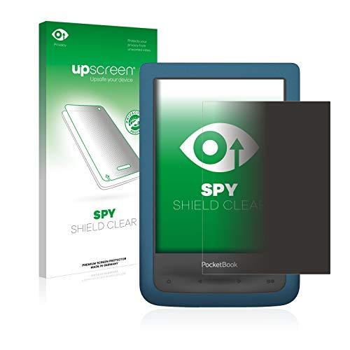 upscreen Anti-Spy Blickschutzfolie kompatibel mit Pocketbook Auqa 2 Privacy Screen Sichtschutz Displayschutz-Folie
