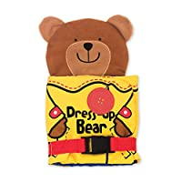 Melissa & Doug 9206 000772092067 Soft Activity Baby Book-Dress Up Bear, Multi