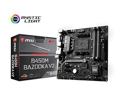 MSI B450M Bazooka V2 - Placa Base Arsenal Chipset