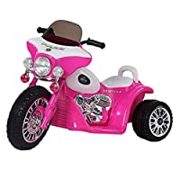 Guaranteed4Less Kids 6v Ride On Police Battery Bike Trike Motorbike 3 Wheel Motor Cycle Tricycle