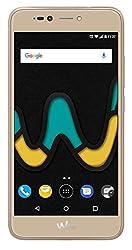 Wiko U Pulse Gold (Smartphone, 5,5 Zoll HD, 13 MP Kamera, 8MP Selfie-Kamera, Android, Fingerabdruck, 32GB ROM/3GB RAM, Quad-Core CPU, 4G, Dual-SIM, Speicher erweiterbar um bis zu 128GB, Gold)