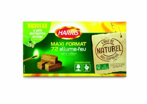 harris-feu41-allume-feu-72-cubes-boite-distributrice