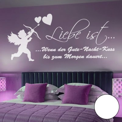 farben schlafzimmer waende A360 Wandtattoo