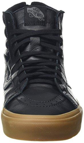 Vans Unisex-Erwachsene Sk8-Hi Reissue Zip High-Top Schwarz (Hiking black/gum)