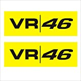#8: Isee360 Vr 46 Sport Specialized Decal For Bike Chaise Stem Visor Sides Helmet Car Windows Rear, Sides, Hood, Bumper Sportive Sticker(Pack Of 2 )