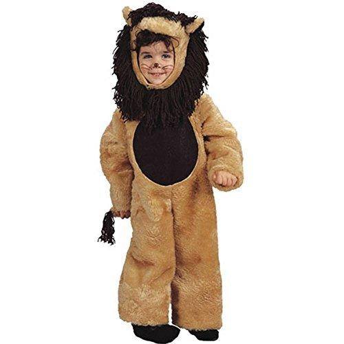 Plush Lion Kids Costume