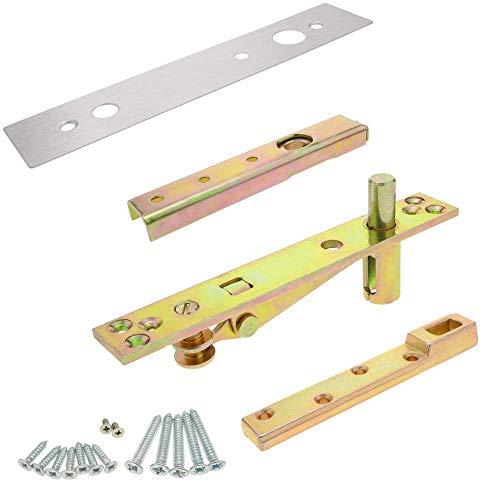 PrimeMatik - Klammer Kit für Holztür Bodentürschliesser