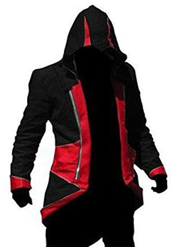 Rulercosplay Assassin's Creed 3 Connor Kenway Jacket Hoodie Cosplay jacket/Coat In Cotton Available In All Size's Our Colours