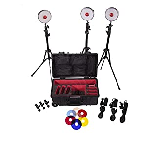 Rotolight Neo Three Light Studio Kit with Hard Roller, Stands and 360 Pro Ball Head Mounts (B01895HJCO) | Amazon price tracker / tracking, Amazon price history charts, Amazon price watches, Amazon price drop alerts