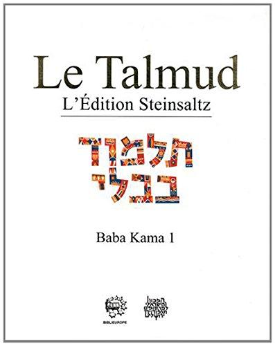 Le Talmud : Tome 29, Baba Kama 1