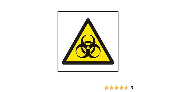 Caledonia Schilder 24537 C Biohazard Symbol Zeichen Selbstklebendes Vinyl 150 Mm X 150 Mm Bei Günstiger Preis Kostenloser Versand Ab 29 Für Ausgewählte Artikel