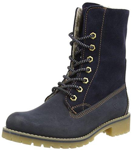 Tamaris 26443 Damen Combat Boots Blau (Navy 805)