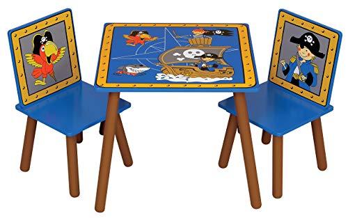 Kidsaw Pirat Tisch und Stühle