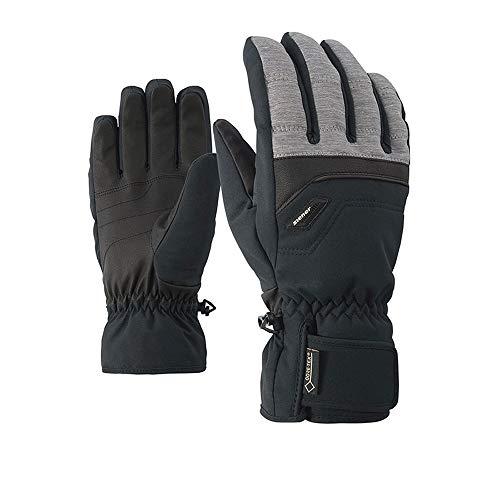 Ziener Herren Glyn GTX Gore Plus warm Glove Alpine Ski-Handschuhe/Wintersport   Wasserdicht, Atmungsaktiv, Dark Melange, 12 -
