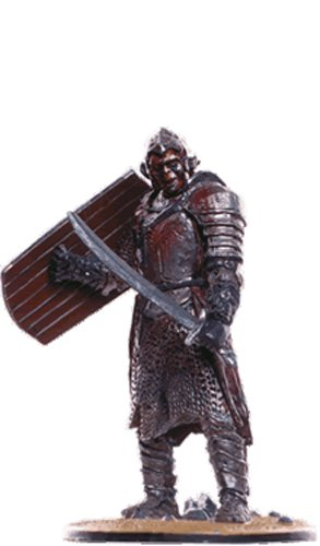 Lord of the Rings Señor de los Anillos Figurine Collection Nº 75 Orc Warrior 1