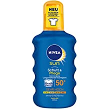 NIVEA SUN Schutz & Pflege Sonnenspray LSF 50, 1er Pack (1 x 200 ml)