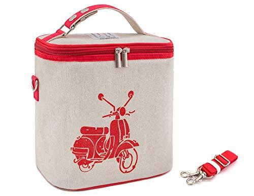 PRECORN Red-Bike - Bolsa isotérmica para Picnic