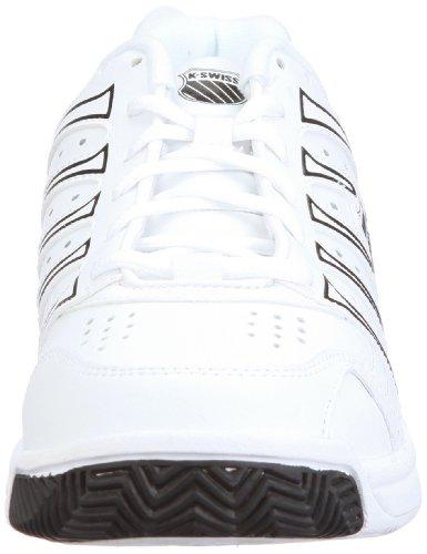 K-Swiss GRANCOURT II M 02648-153-M, Chaussures de tennis homme Blanc-TR-A-4-49