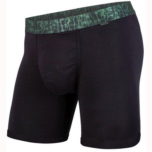 BN3TH Classics Boxershorts Premium Unterwäsche mit Tasche, Herren, Classics Boxer Brief Premium Underwear with Pouch, Black Bamboo/Black, Medium -