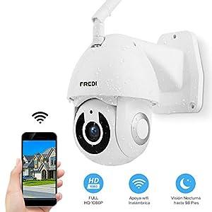 FREDI HD 1080P ptz telecamera di sorveglianza Videocamere di Sorveglianza WIFI Esterno con Rilevamento del Movimento… 41DjZjA4y1L. SS300