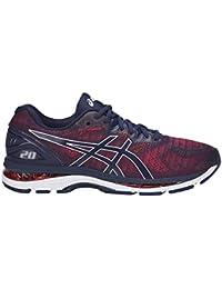 ASICS Nimbus 20 Men's Fitness/Cross-Training Trail Running Shoe, Indigo Blue/Indigo Blue/Fiery Red, 10 Medium US