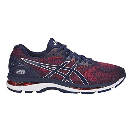 Asics Chaussures Gel-Nimbus® 20 Pour Hommes Indigo Blue/Indigo Blue/Fiery Red