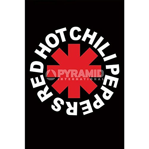 Red Hot Chili Peppers Logo Poster (Hot Chili Peppers Dekoration)