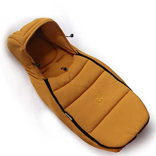 Preisvergleich Produktbild Hot Mom Kinderwagen und Stubenwagen Schlafsack für 0-9 Monate Baby (gelb)