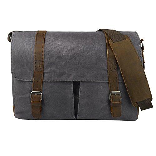 estarer-arbeitstasche-laptoptasche-156-zoll-wasserabweisend-canvas-grau
