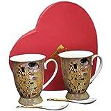 Gustav Klimt el beso de 4porcelana taza de té