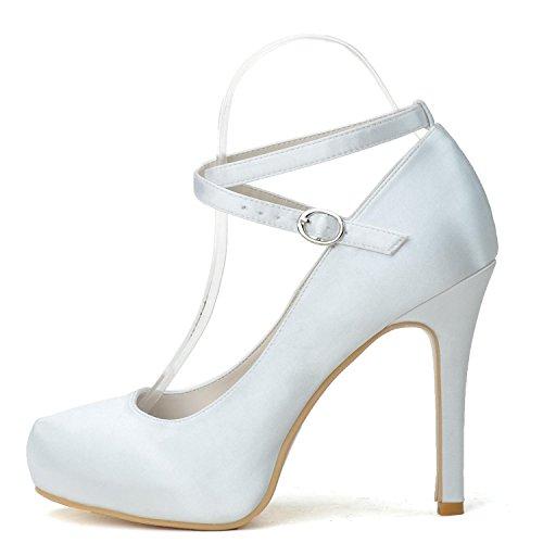 L@YC Scarpe Da Sposa Da Donna E Scarpe Da Balletto Da Sera # 6915-09 altri Colori Disponibili / Feste / Personalizzate Blue