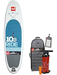 "Red Paddle Co SRED6106 - Tablas paddle surf hinchables, color azul, 10'6"" x 32"""