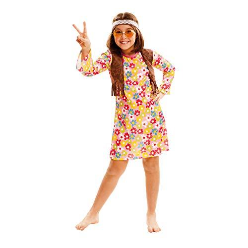 Partychimp 83-02553 - Flower Power, Kinderkostüm, 10-12 Jahre, ()