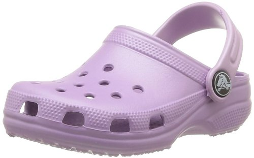 crocs Classic Kids, Unisex-Kinder Clog, Violett (Iris), 19/21 EU (Herstellergröße: 4/5 M US ) (Cotton Iris Light)