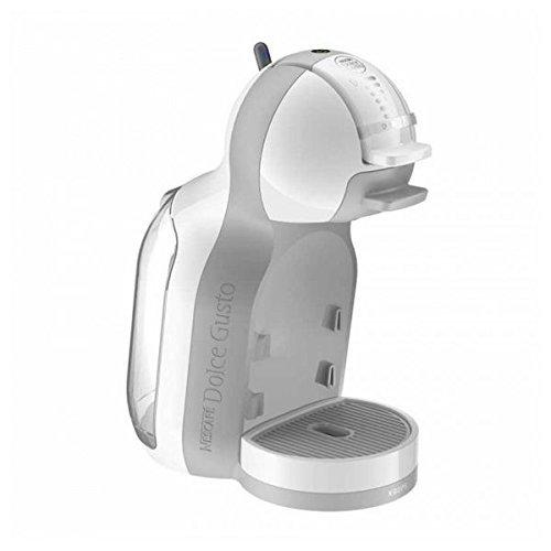 Krups KP 1201 Nescafé Dolce Gusto Mini Me Kaffeekapselmaschine (1500 Watt, automatisch) weiß/grau...