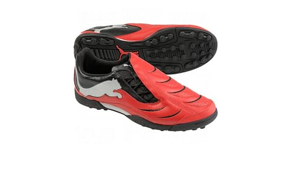 Puma Powercat 3.10 TT Kids Astro Turf Trainers Red Black Size UK 10 RRP  £35  Amazon.co.uk  Sports   Outdoors 2a2e36dac