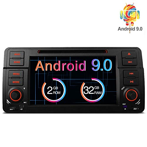 "Freeauto Para BMW E46/320/325 Quad Core 7 ""Android 8.1 Estéreo Pantalla multitáctil Radio CD Reproductor de DVD GPS Pantalla de video Duplicación OBD2 Wifi CANbus"