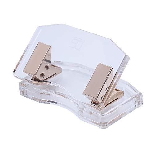 Draymond Story Doppellocher für Papier/Papier, 10 Blatt, gebogenes Modell