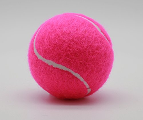 Price's Tube of 4 Colour tennis balls(1 x 4 Pink balls)