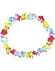 SO&CO 0278 - Guirnaldas de flores hawaianas, 100 unidades, multicolor