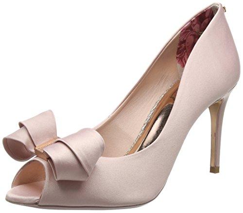 Ted Baker Vylett, Ballerine Punta Aperta Donna Rosa (Light Pink #ffc0cb)