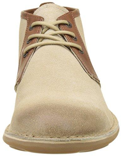 Kickers Mens Swibak Short Boots Beige (beige)