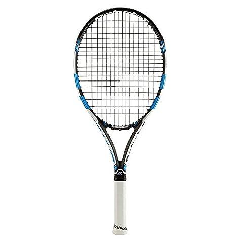 BABOLAT Pure Drive Junior 26Tennis Rackets, Unisex Children, Pure Drive Junior 26, Black / Blue, 1
