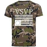 Trvppy Herren Camouflage T - Shirt Modell VSVP, Gr.