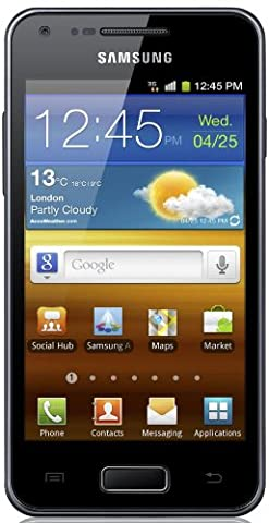 Samsung Galaxy S Advance I9070 Smartphone (10,2 cm (4 Zoll) AMOLED-Touchscreen, 5 Megapixel Kamera, Android 2.3)