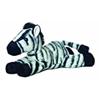 Flopsie 12-inch Zebra