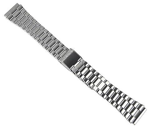 Casio Steinless Steel 18mm Ersatzband Uhrenarmband Edelstahl Band für B640WD
