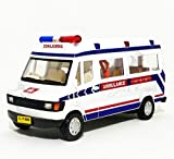 #9: City Traveler Ambulance (with Back Door openable & Inside Detailing)