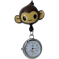 Tokidoki Monkey Retractable Reel Clip Watch Dr Nurse Midwife HCA Gift Present